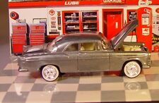 JL 1955 '55 CHRYSLER C-300 RARE RAW FINISH - RUBBER TIRES DIE CAST COLLECTIBL