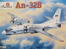 1:72 Amodel #72180 Antonov An-32B Military transport multipurpose aircraft