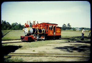 Railroad Slide Edaville EDA #4 circa 1950s Red Border