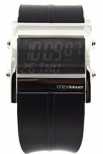 LIMITED EDITION TAG HEUER MICROTIMER CS111B.FT6003 DIGITAL RUBBER SWISS WATCH