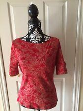 Women's Ralph Lauren Blouse Size - M  Cotton Condition- EXC