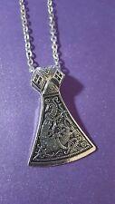 NEW - Viking Mammen Axe Pendant Gothic Necklace Scandinavian Norse Slavic    d5