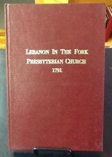 Lebanon in the Fork Presb Church, 1791, Ramsey, Knoxville TN, reprint FREE SHIP!