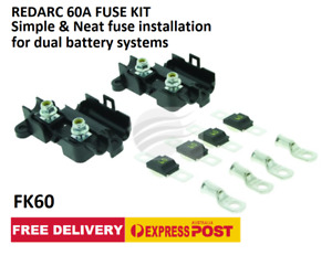 REDARC 60A Fuse Kit FK60 for Dual Battery Systems FREE DELIVERY
