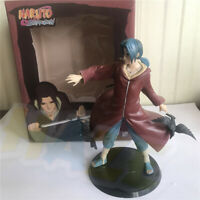 Anime Cartoon NARUTO Uchiha Itachi 20 cm/8 inch PVC Figure Model Toy Present