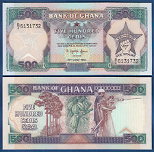GHANA 500 Cedis 1994  UNC  P. 28 c