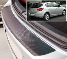 Vauxhall-Opel Astra MK6 hatchback 3/5 door - Carbon Style rear Bumper Protector