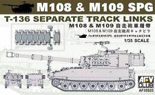 AFV 35s23 1/35 t-136 separadas track link for m108 & m109 móvil