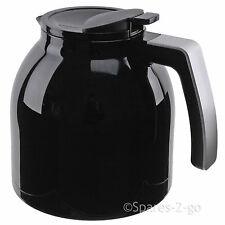 Genuine Melitta LOOK Therm Deluxe Black Jug Thermal Filter Coffee Machine Pot