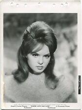 "JOEY HEATHERTON ""WHERE LOVE HAS GONE"" ORIGINAL VINTAGE 1964 8X11"" PHOTOGRAPH"
