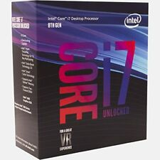 Intel Core I7-8700K Processor (BX80684I78700K) 5GHz New and Sealed