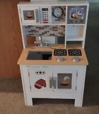 Teamson Kids - Fold-out Toy Play Kitchen with Accessories
