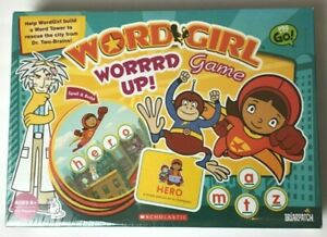 Briarpatch Wordgirl Worrrd Up Game New Sealed Rare Word Girl Hero Scholastic