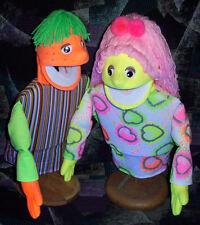 Blacklight Girl & Boy Puppet Set -Ministry, Entertainment, Education,Teachers