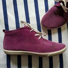 Hübsche Stiefeletten / Sneakers von Ecco, 40, aubergine
