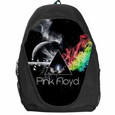 New Pink Floyd Dark Side of The Moon Backpack School Bag Travelling Bag for Fans