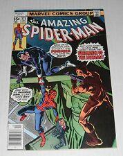Amazing Spider-Man 175...FINE-VF...7.0 grade--B....1977 Punisher comic book