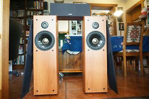 DENON Front and Centre Home Theater Speakers SCM-80 6 Ohm 100W SC-181EF MALAYSIA