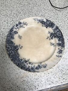 Montrose plate earthenware Ralph Hammersley & Sons no 259150 hedgerow flowers