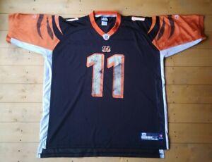 Reebok Cincinnati Bengals NFL Jersey. Shipley #11. XXL.