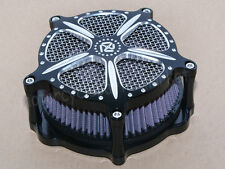Modified Air Cleaner Intake Filter For Harley 1991-2016 XL SPORTSTER 883N 883R