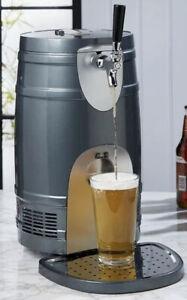 Beer Keg Dispenser Drinks Cooler Electric Pump Draft Lager Universal 5L New