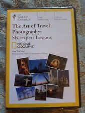 New! The Great Courses: The Art of Travel Photography: Six Expert Lessons, Dvd,