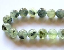 40pcs 10mm Round Natural Gemstone Beads - Prehnite