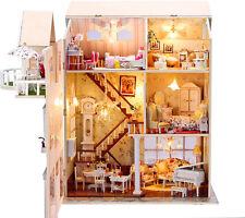À faire soi-même Artisanat Miniature Projet Kit en bois Maison de poupées ma petite villa en ITALIE