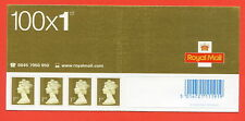 SA10. SG. 2295. 1st Class Gold. 2002 Enschede - Gravure Business Sheet Header