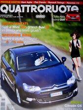 Quattroruote 631 2008 Prova Citroen C5. Tutto sulla nuova Golf. Alfa 159 [Q87]