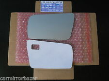 512LF Mercedes-Benz C CL E S SL AMG Mirror Glass Driver Side Left +FULL ADHESIVE