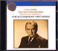 Fritz Pur: Mahler La chanson de la Terre CD Maureen Forrester Richard Lewis