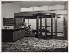 Revolving Interior doors. Unknown building.  (ZO.14)