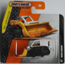 Matchbox - Mini Dozer weiß/orange Neu/OVP