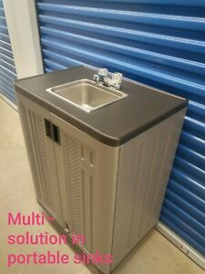 Portable sink mobile Handwash Self contained cold water 110V