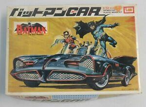 BATMOBILE (BATMAN CAR) - 1/32 Scale Imai Model Kit - Lot J36