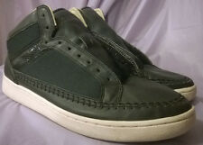 LACOSTE men's Revan 3 Hi Deluxe navy blue sneaker shoes size 10.5