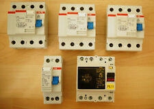 5x RCD  ABB F374 F372 Fi-schutzschalter