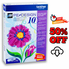 Brother Pe Design 10 Embroidery Full Software 2020 + Free GIFTS 🔥 5s DELIVERY🔥