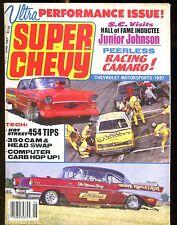 Super Chevy Magazine June 1987 Junior Johnson VG No ML 022717nonjhe