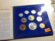 4ma) SAN MARINO - MONETE DIVISIONALI ANNO 1996 CON MONETA IN ARGENTO
