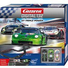 Carrera DIGITAL 132 GT Triple Power, Rennbahn