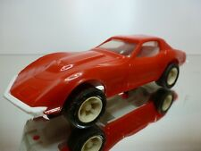 TONKA PLASTIC CHEVROLET CORVETTE STINGRAY - RED L17.0cm - GOOD CONDITION