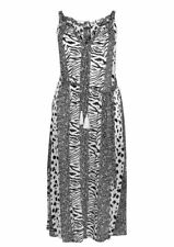 Evans Monochrome Print Tassel Maxi  Dress - BNWT - Plus Size 18