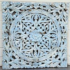 Architectural Hand Carved Indian Antique Wall Decoration Statement Piece
