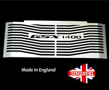 Suzuki GSX1400 (01-17) Stainless Steel Radiator Oil Cooler Guard Grill Cover