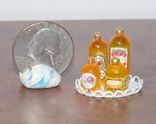 Dollhouse Miniature Vanity Set White Tray D 1:12 inch scale G76 Dollys Gallery