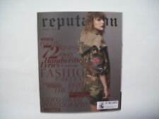NEW Taylor Swift Reputation CD Album & Rare Target Exclusive Magazine Vol 2