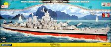 COBI USS Iowa (BB-61) / Missouri (4812) - 2410 elem. - WWII US battleship 1:300